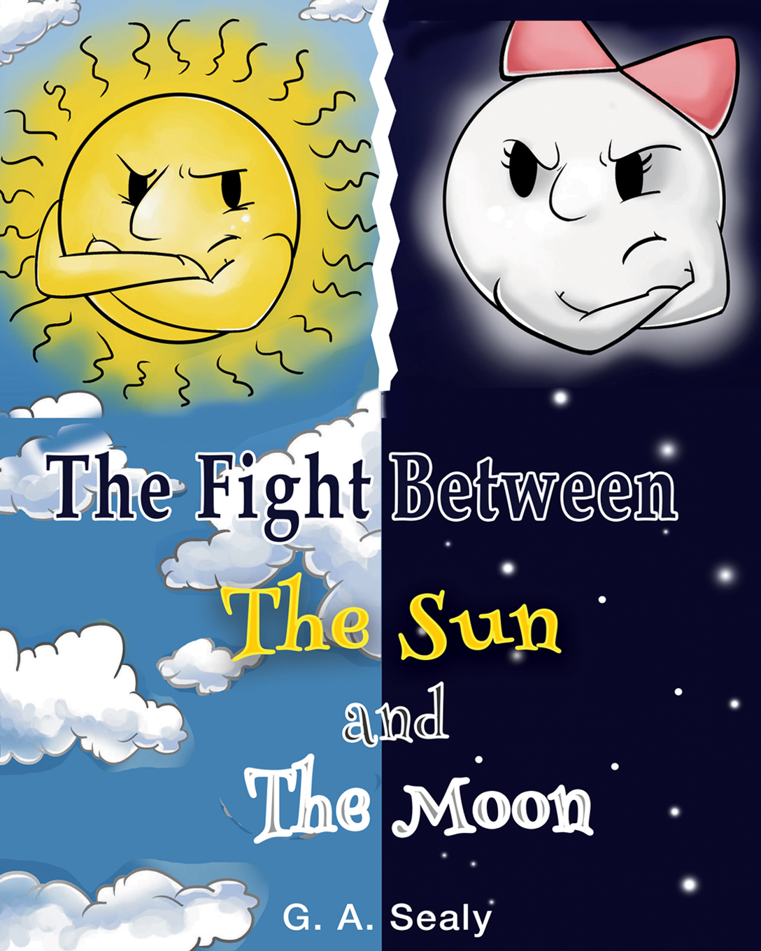 The fight between the sun and the moon